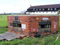 Nottingham Airport - WWII pillbox at Tollerton - by Chris Hall