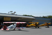 Santa Paula Airport (SZP) - Early Arrivals-National Bucker Fly-In - by Doug Robertson