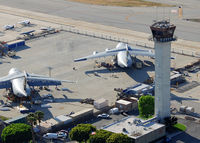 Long Beach /daugherty Field/ Airport (LGB) - Home of some of the best controllers in SoCal.  - by Marty Kusch