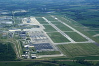 Rickenbacker International Airport (LCK) - Rickenbacker viewed from South of the Airport - by Allen M. Schultheiss