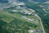 Fairfield County Airport (LHQ) - Fairfield County Airport from the North - by Allen M. Schultheiss