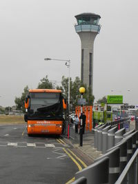 London Luton Airport, London, England United Kingdom (EGGW) - Control Tower Luton Airport - by Henk Geerlings
