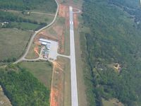 Franklin County Airport (18A) - Looking East - by Bob Simmermon