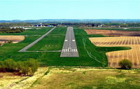 Dodge County Airport (UNU) - Short final, runway 08 - by Gary Dikkers