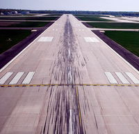Dane County Rgnl-truax Field Airport (MSN) - Runway 18 - by Gary Dikkers