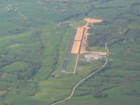 Madison Airport (I39) - Looking north, up RWY 36 - by Bob Simmermon