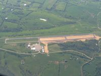 Madison Airport (I39) - Looking west - new taxiway project. - by Bob Simmermon