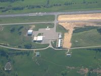 Madison Airport (I39) - Looking west - by Bob Simmermon