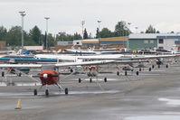 Merrill Field Airport (MRI) - Merill Field, Alaska - by Dietmar Schreiber - VAP