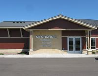 Menomonie Muni-score Field Airport (LUM) - The Arrivals/Departures building in Menomonie, WI. - by Kreg Anderson