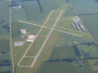 La Porte Municipal Airport (PPO) - Looking north - by Bob Simmermon