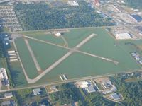 Smith Field Airport (SMD) - Looking SSW, all projects are done. - by Bob Simmermon