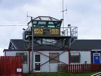 Newtownards Airport, Newtownards, Northern Ireland United Kingdom (EGAD) - Tower at Newtownards Airport - by Chris Hall