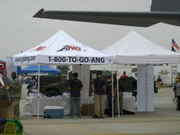 Point Mugu Nas (naval Base Ventura Co) Airport (NTD) - Air National Guard-Channel Islands, Booth at NBVC 2010 Air Show. The ANG more recently shares the runways at NTD with the original occupant (since 1946)-the US Navy. - by Doug Robertson