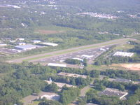Robertson Field Airport (4B8) - Robertson Airport from about 1600 feet - by Cohen