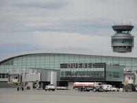 Québec/Jean Lesage International Airport (Jean Lesage International Airport), Quebec City, Quebec Canada (CYQB) - CYQB terminal and tower. - by olinadeau