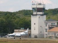 Beverly Municipal Airport (BVY) - KBVY Tower - by Samuel D.