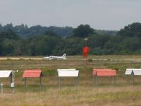 Beverly Municipal Airport (BVY) - KBVY windsock - active runway 16 - by Samuel D.