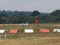 Beverly Municipal Airport (BVY) - KBVY windsock - active runway 16 - by Samuel D.