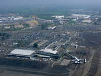 Nantes Atlantique Airport (formerly Aéroport Château Bougon), Nantes France (LFRS) - vue sur l'aéroport - by Jean Goubet/FRENCHSKY