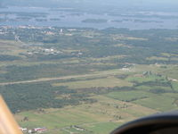 Maxson Airfield Airport (89NY) - Left Downwind for 24 - by Sam Andrews