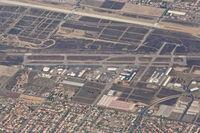 Rialto Municipal /miro Fld/ Airport (L67) - Rialto Municipal Airport, Rialto, CA as seen descending  through 10,000' on an approach into KLAX. - by Mark Kalfas