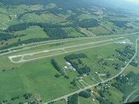 Mountain Empire Airport (MKJ) - Aerial of Mountain Empire Airport from the southwest. - by Jon Raines