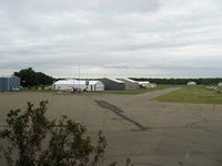 South St Paul Muni-richard E Fleming Fld Airport (SGS) - Aircraft Hangars, taxiway in foreground - by Doug Robertson