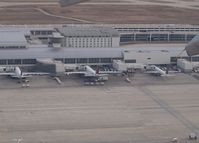 Detroit Metropolitan Wayne County Airport (DTW) - From the airplane  - by Willem Goebel