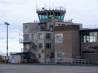 Isle of Man Airport - The old control tower at Ronaldsway Airport - by Chris Hall