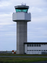 Isle of Man Airport - The new control tower at Ronaldsway Airport - by Chris Hall
