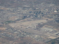 Mc Carran International Airport (LAS) - McCarran Int'L Airport Las Vegas and the Strip, from N585NW - by Doug Robertson