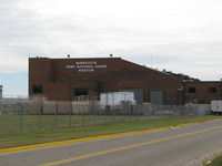St Paul Downtown Holman Fld Airport (STP) - Minnesota Army National Guard Aviation Building - by Doug Robertson