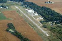 Clinton Field Airport (I66) - Looking Northeast - by Allen M. Schultheiss