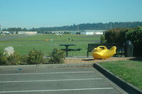 Auburn Municipal Airport (S50) - park area set up for airplane watching - by Wolf Kotenberg