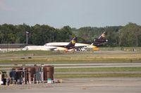 Detroit Metropolitan Wayne County Airport (DTW) - UPS at DTW - by Florida Metal