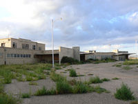 Rick Husband Amarillo International Airport (AMA) - This terminal dates from the 1930's when the Amarillo airport was named English Field. It is unused and in poor condition at this time.  - by Zane Adams