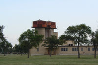 Rick Husband Amarillo International Airport (AMA) - WWII era water towers at the former Amarillo Air Force Base.  - by Zane Adams
