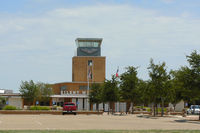 Lubbock Preston Smith International Airport (LBB) - Former terminal and control tower at Lubbock International Airport - by Zane Adams