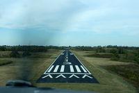 Gene Snyder Airport (K62) - On short Final Approach to K62 Runway 3. Beech Sundowner. - by Charlie Pyles