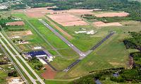 Waupaca Municipal Airport (PCZ) - Waupaca Muni from the southeast looking northwest - by Gary Dikkers