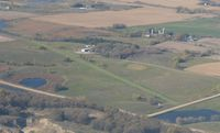 Angen Field Airport (MN44) - A shot of Angen Field from 2500'. - by Kreg Anderson