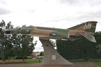 RAF Lakenheath Airport, Lakenheath, England United Kingdom (EGUL) - McDonnell F-4C Phantom II 65-0777. Actually 63-7419. In the Commemorative area at RAF Lakenheath, UK. An ex BDRT airframe from RAF Alconbury. - by Malcolm Clarke