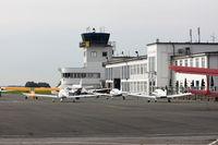 Essen/Mülheim Airport - Airport Ramp of Essen Mülheim Airport, Germany, ESS/ EDLE - by Air-Micha