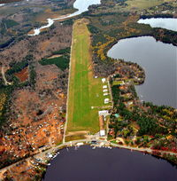 Three Lakes Municipal Airport (40D) - Three Lakes, from the north looking south. - by Gary Dikkers