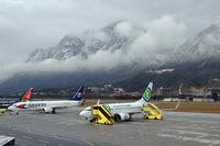 Innsbruck Airport, Innsbruck Austria (LOWI) - Winters Day Jan.2008 - by Terence Burke