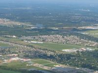 East Kansas City Airport (3GV) - Looking NW - by Bob Simmermon