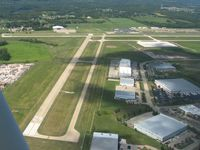 Lee's Summit Municipal Airport (LXT) - Looking west - by Bob Simmermon