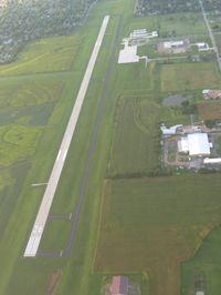 Marshall Memorial Municipal Airport (MHL) - Looking north - by Bob Simmermon
