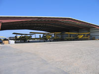 Jones/ag-viation Airport (CL23) - Jones Flying Service/Ag-viation has this magnificent hangar at their Biggs, CA airstrip - by Steve Nation
